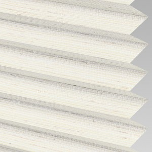 INTU Blinds Mineral asc Ivory Pleated Blinds