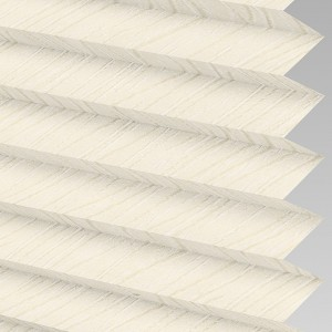 INTU Blinds Chenille asc Cream Pleated Blinds