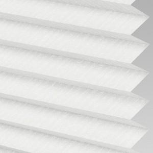 INTU Blinds Ribbons asc White Pleated Blinds