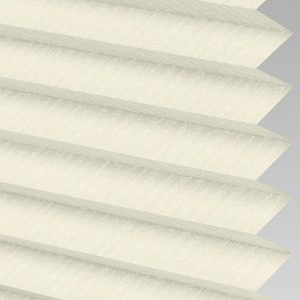 INTU Blinds Ribbons asc Cream Pleated Blinds