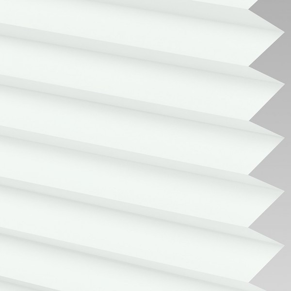 INTU Blinds Infusion White Pleated Blinds