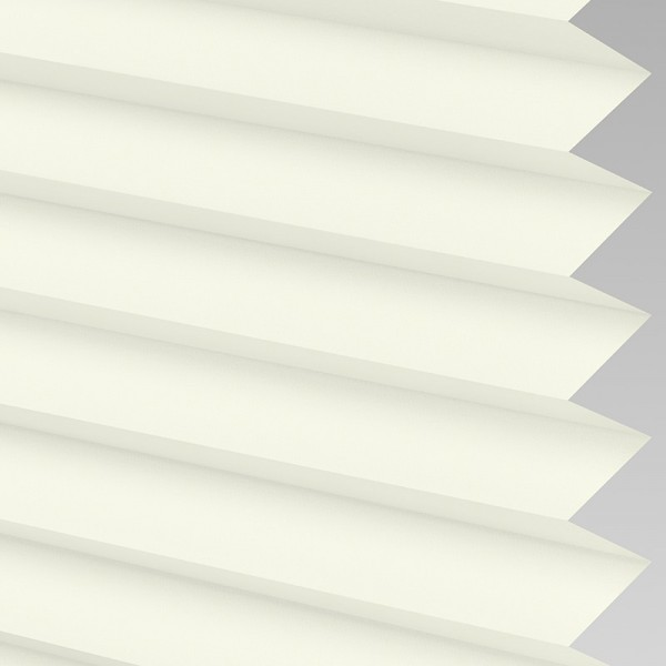 INTU Blinds Infusion Cream Pleated Blinds
