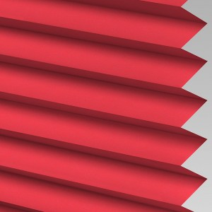 INTU Blinds Infusion asc Raspberry Pleated Blinds