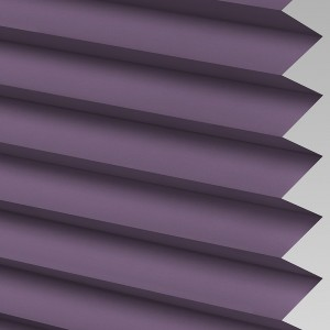 INTU Blinds Infusion asc Grape Pleated Blinds