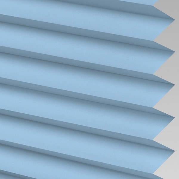INTU Blinds Infusion asc Pale Blue Pleated Blinds