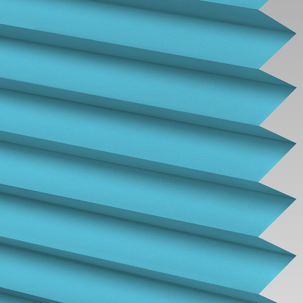 INTU Blinds Infusion asc Teal Pleated Blinds