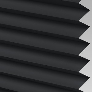 INTU Blinds Infusion asc Black Pleated Blinds