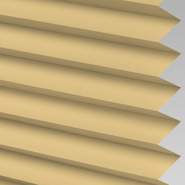INTU Blinds Infusion asc Muted Gold Pleated Blinds