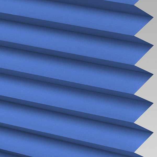 INTU Blinds Infusion asc Glacier Blue Pleated Blinds