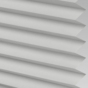 INTU Blinds Galaxy asc Blackout Silver Pleated Blinds