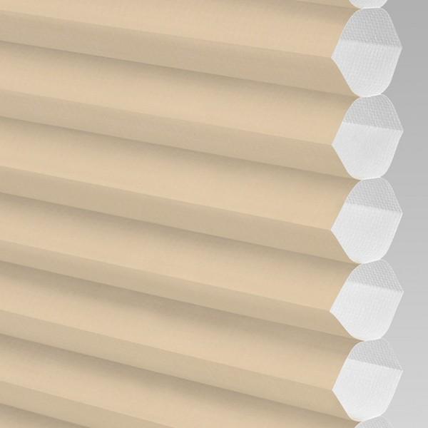 INTU Blinds Hive Plain Barley Cellular Blinds Close Up
