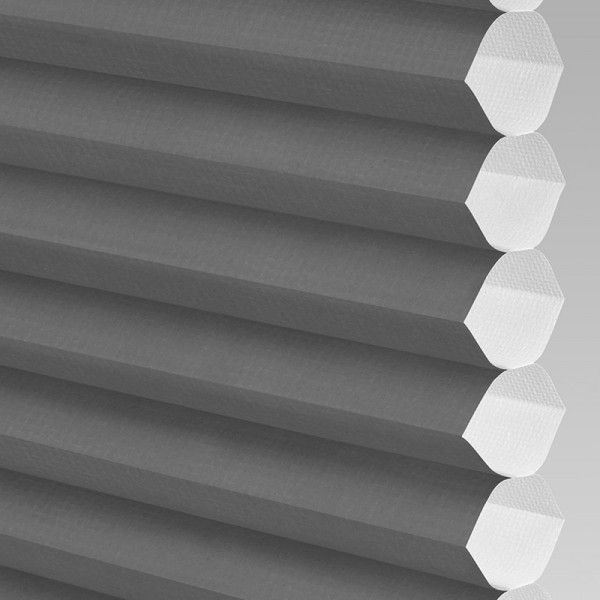 INTU Blinds Hive Plain Black Cellular Blinds Close Up