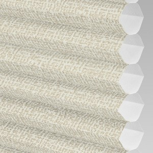 INTU Blinds Hive Matrix Cream Cellular Blinds Close Up