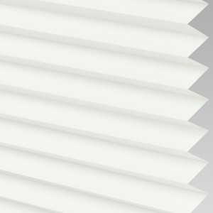 INTU Blinds Infusion asc Micro White Pleated Blinds