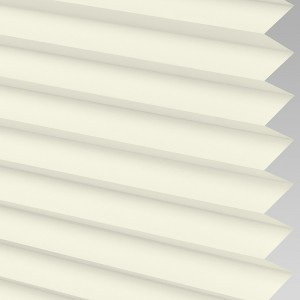 INTU Blinds Infusion asc Micro Cream Pleated Blinds