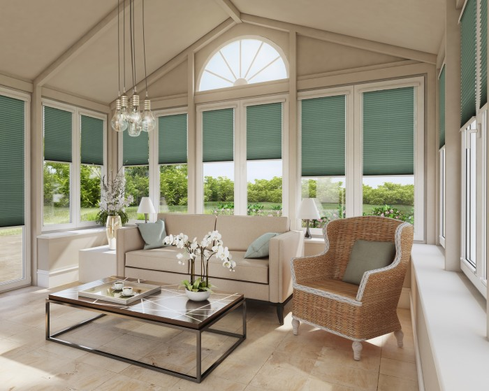 Modern Conservatory_Infusion Jade_Pleated