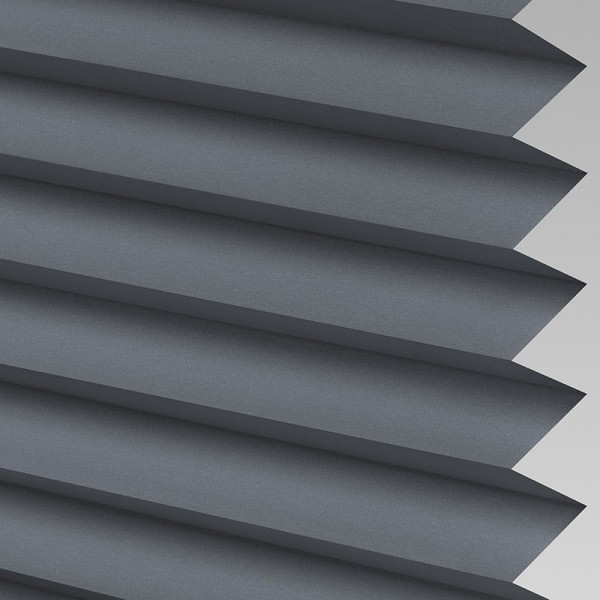 INTU Blinds Infusion asc Charcoal Pleated Blinds
