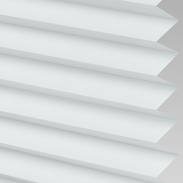 INTU Blinds Galaxy asc Blackout White Pleated Blinds