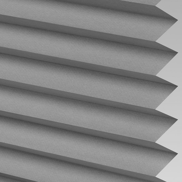 INTU Blinds Galaxy asc Blackout Concrete Pleated Blinds
