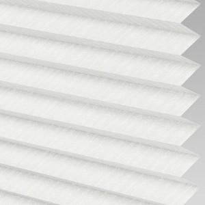 INTU Blinds Ribbons asc Micro White Pleated Blind