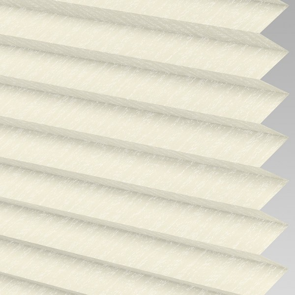 INTU Blinds Ribbons asc Micro Cream Pleated Blind