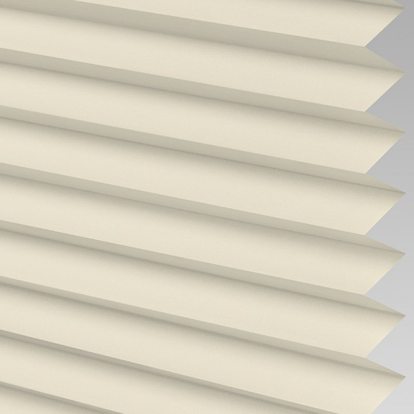 INTU Blinds Ribbons asc Micro Ivory Pleated Blind