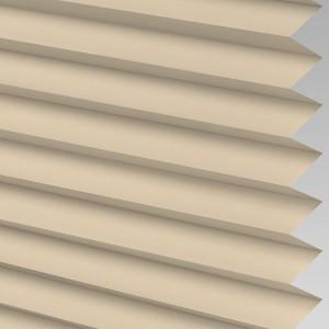 INTU Blinds Ribbons asc Micro Beige Pleated Blind