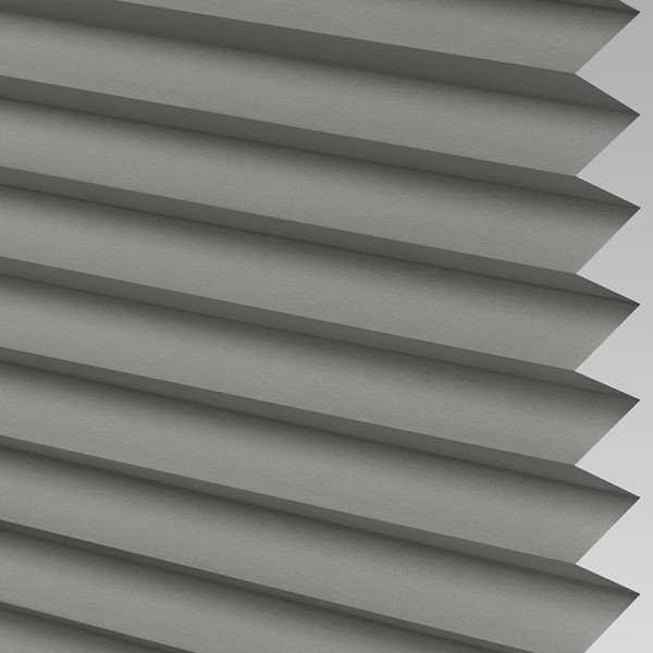 INTU Blinds Ribbons asc Micro Concrete Pleated Blind