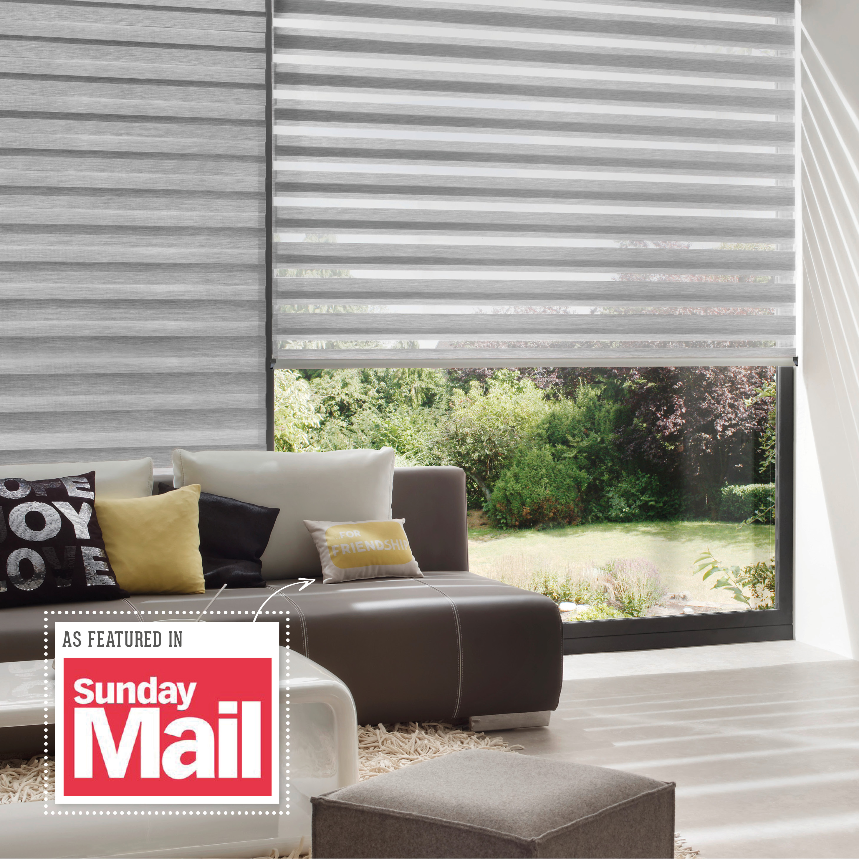 INTU Blinds As Featured in the Sunday Mail