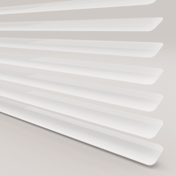 INTU Blinds 25mm Cotton White Venetian Blinds