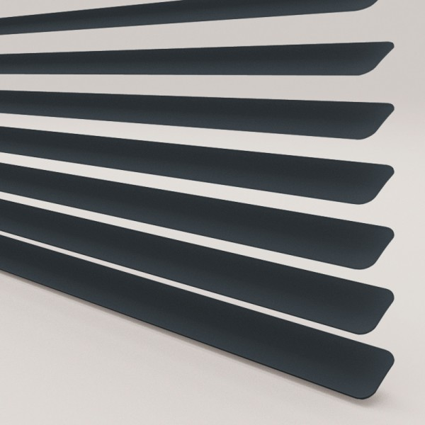 INTU Blinds 25mm Anthracite Venetian Blinds