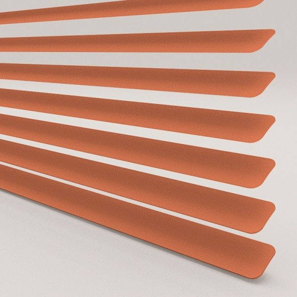 INTU Blinds 25mm Burnt Orange Venetian Blinds