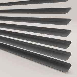 INTU Blinds 25mm Charcoal Venetian Blinds