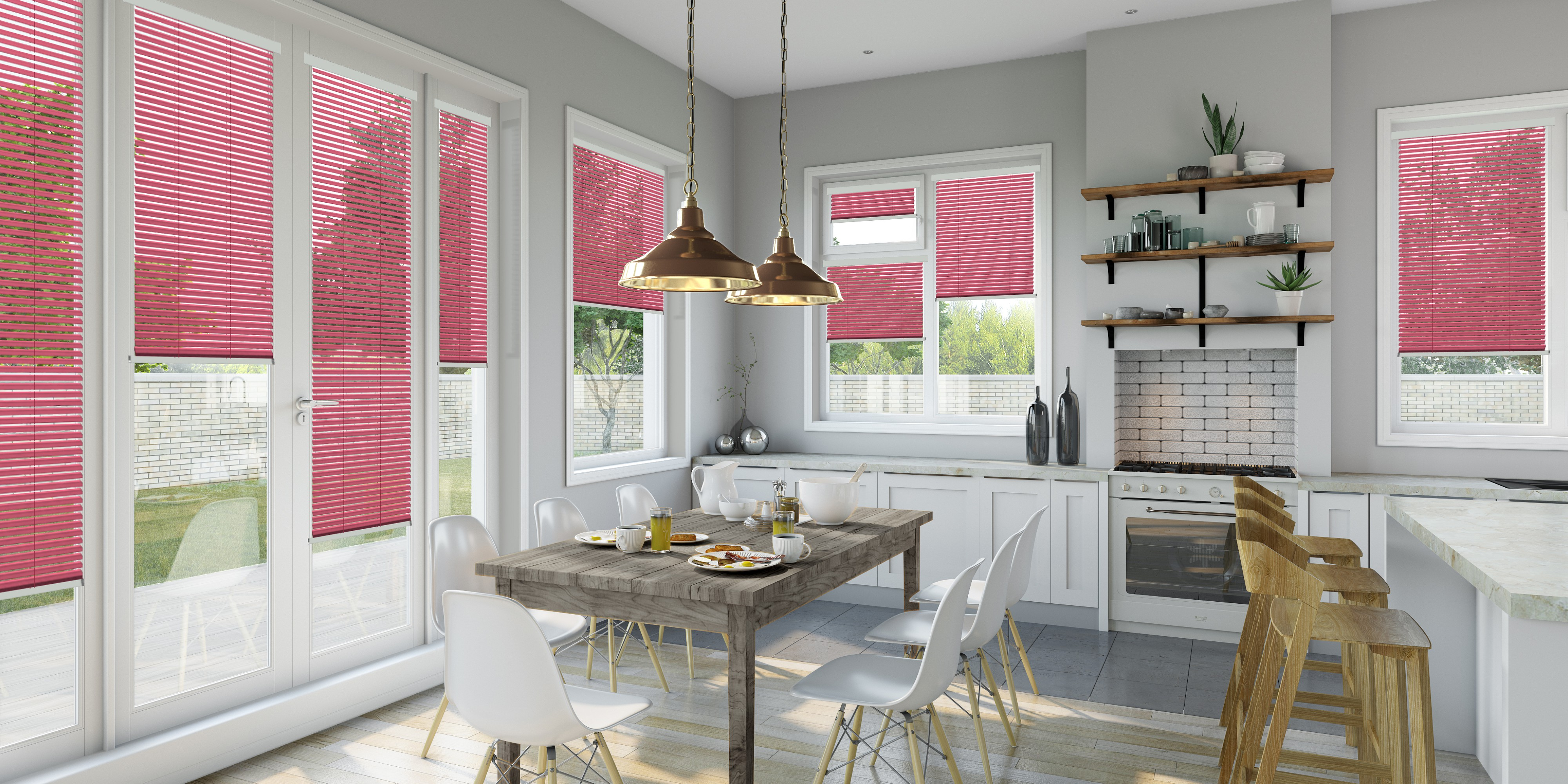 INTU Blinds Blush Venetian Kitchen Blinds
