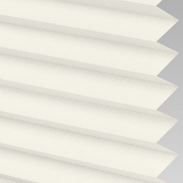 INTU Blinds Calia asc Fire Retardant Cream Pleated Blinds