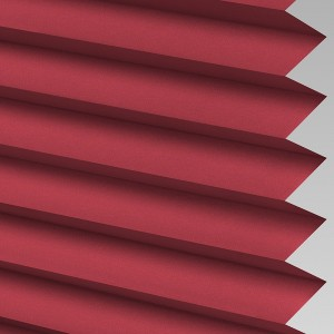 INTU Blinds Infusion asc Crimson Pleated Blinds