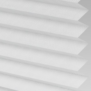 INTU Blinds Hampton Silver Pleated Blinds