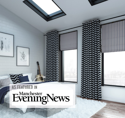 INTU Blinds As Featured in Manchester Evening News