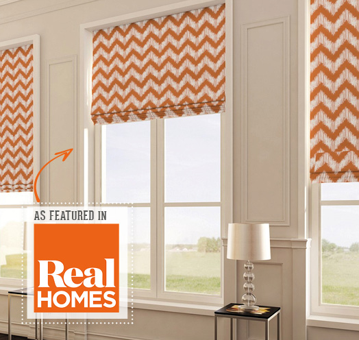 INTU Blinds As Featured in Real Homes