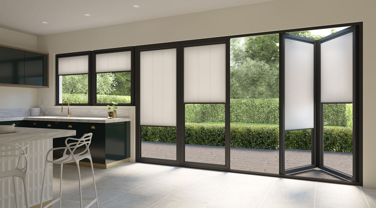 INTU Blinds Hive Cream Patio Door Blinds